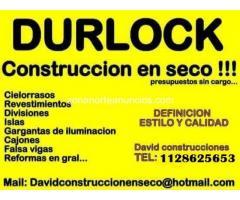 durlock construcción en seco