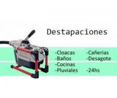 Destapaciones mecanizadas Pilar