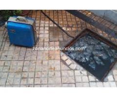 Destapaciones de cloacas San Isidro