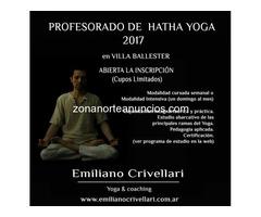 Profesorado de Yoga en Ballester